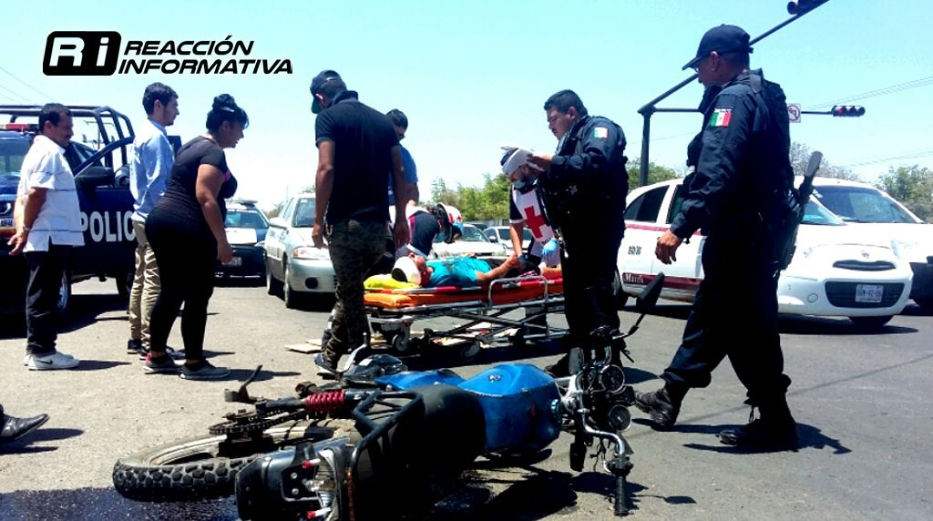 Accidente Moto Altas del Sur