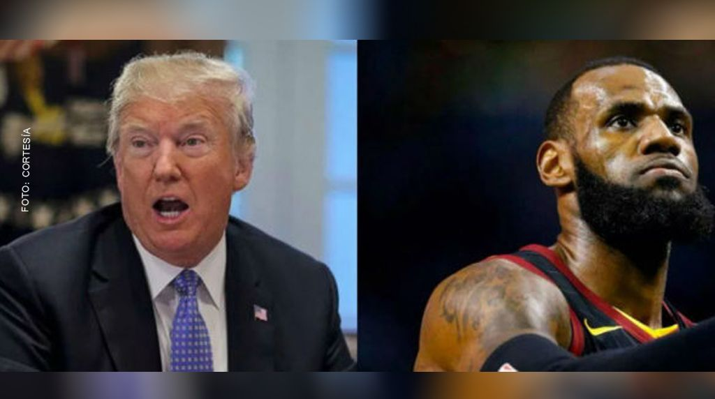 Intercambian nuevos golpes Donald Trump y LeBron James (Tuit y video)