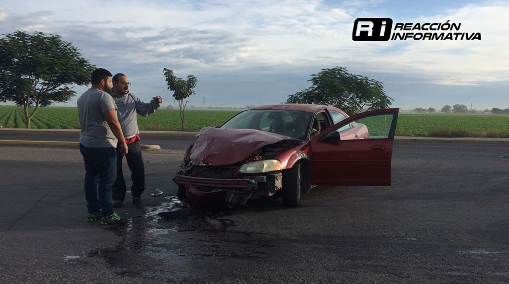 Imparables accidentes en Los Mochis