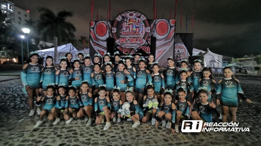 Destacan mazatlecas en Copa Cheer & dance world wide